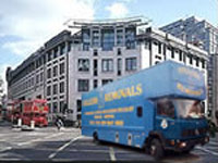 fullers removals city van